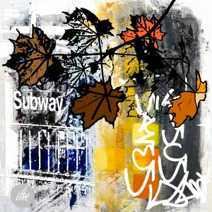 Autumn at the subway