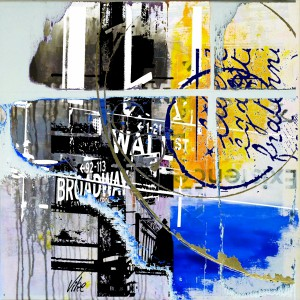 Title.Wall...  60x60 cm for sale 800.00 euro