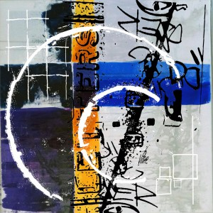 Title.Letters.  60x60 cm for sale 800.00 euro