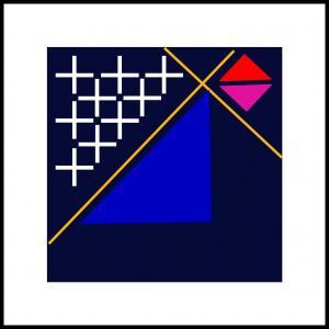 Fire trekanter
