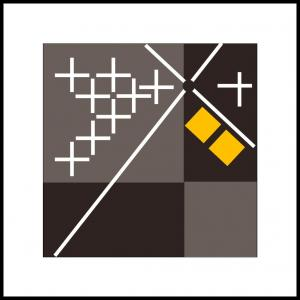 Fire kvadrater og ti kryds