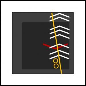 Variation af gul linie