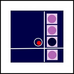 Kvadrater med cirkel