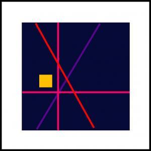 Røde/violet linier
