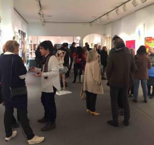 9 Opening at Galerie Gaudi