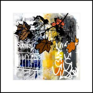 Autumn at the subway