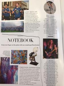 article in Fulham magazine
